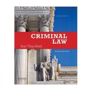Criminal Law - Sue Titus Reid