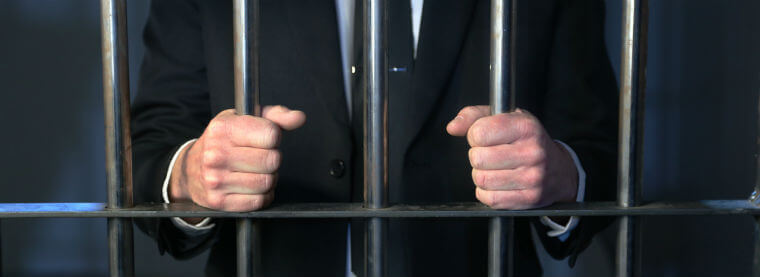 average jail time for embezzlement