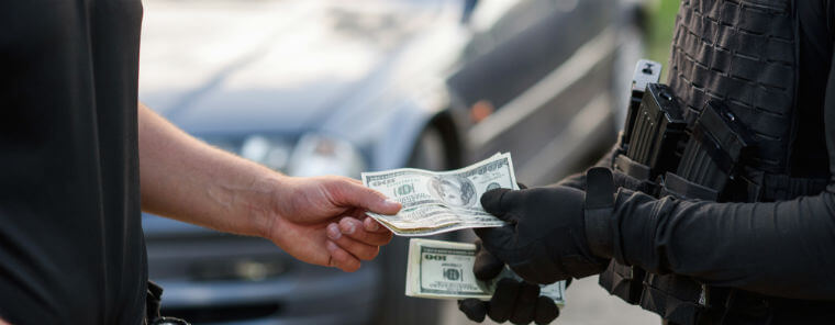 penalty for bribing an officer Texas