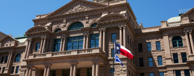 how to file an abstract of judgment in Texas