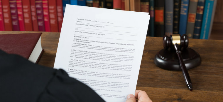 what happens after a motion for default is filed?