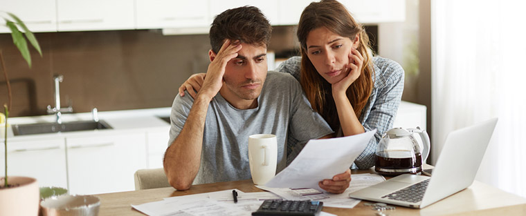 bankruptcy freeze bank account